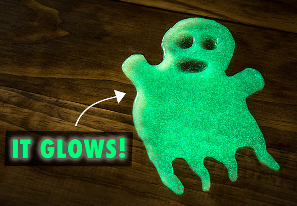 Glows in the dark putty!