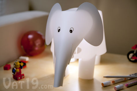 Diy Elephant Lamp Kids Can Build Their Own Plastic