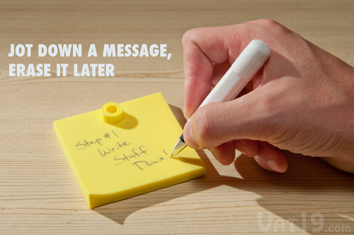 Step 1: Jot down a message