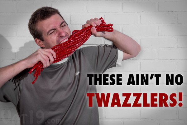 These are super long Twizzlers and not some generic knock-off.