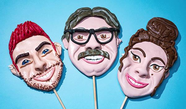 Delicious life-like lollipops
