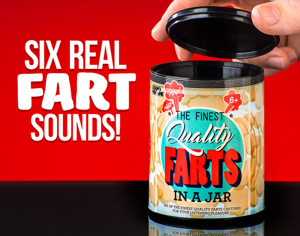 Six real fart sounds