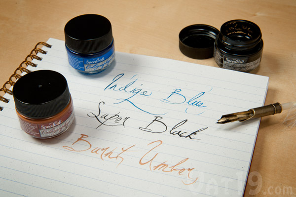 Purchase additional colors of ink for use with your Feather Pen Set