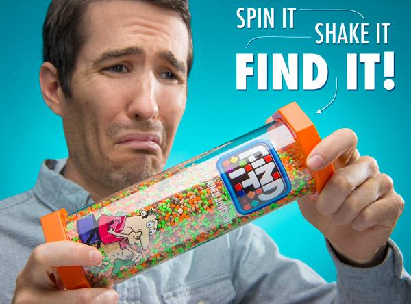 Spin it, shake it, find it!
