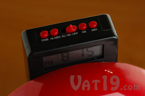 Fire Bell Alarm Clock easy to use