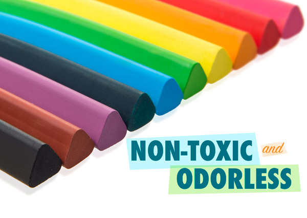 Non-toxic and odorless