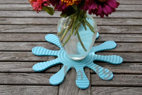 Flexi Trivet Flexible Silicone Trivet Can Be Used As A Bowl