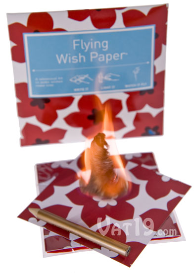 flying wish papers