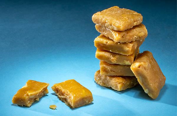 It's a smooth & sweet peanut treat!
