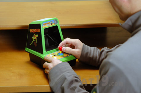Frogger Classic Arcade Tabletop version