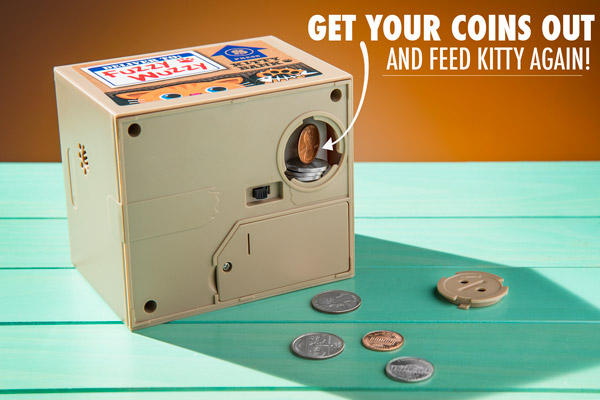 Get your coins out and feed kitty again!