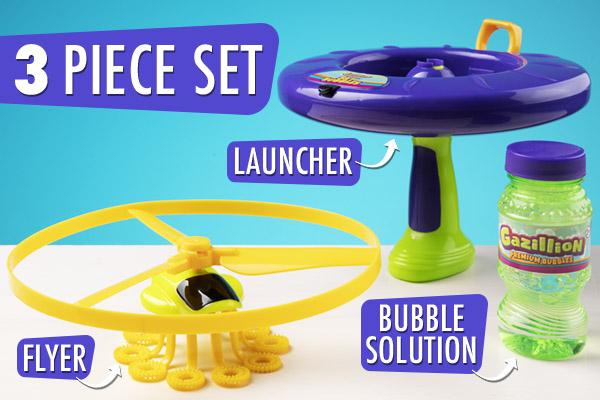 Less parts, more bubbles!