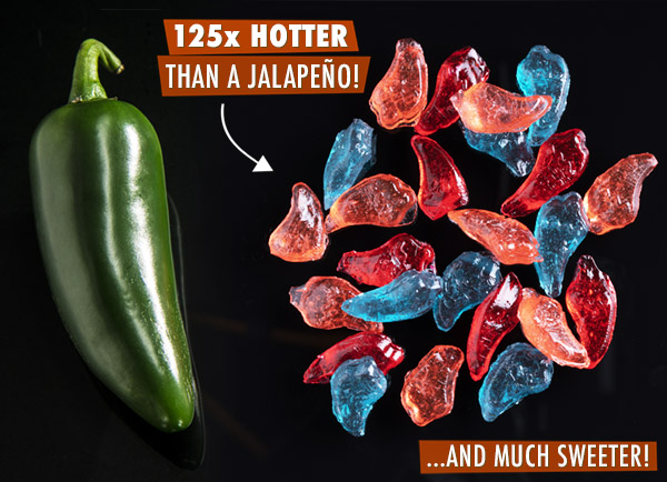 125x hotter than a jalapeño and much sweeter