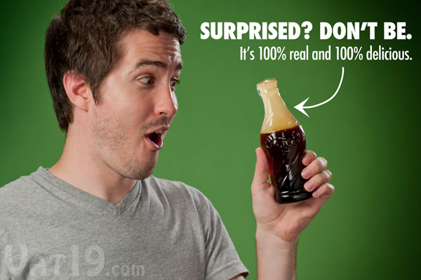 The Giant Gummy Cola Bottle is a super sized version of the classic miniature candy.