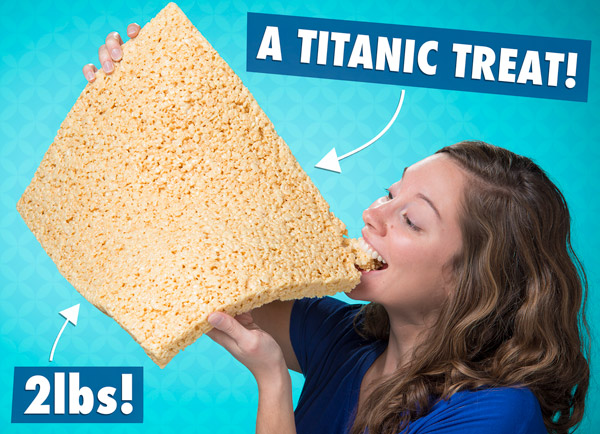 2 lbs of titanic treat!
