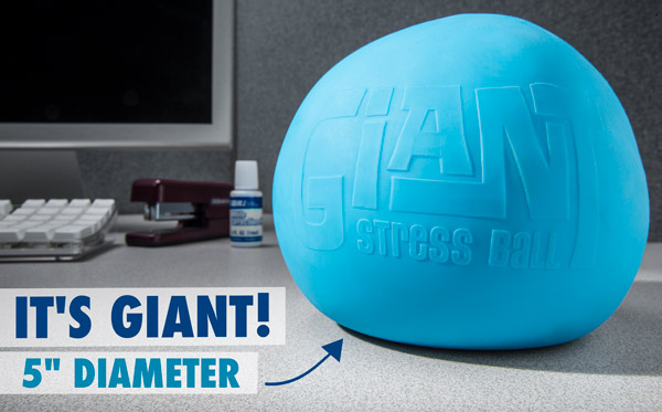 "5"" Giant Stress Ball"
