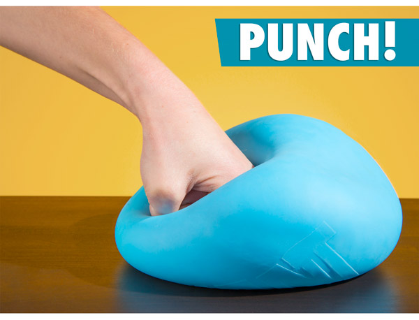 Giant Stress Ball stretch, squeeze, punch