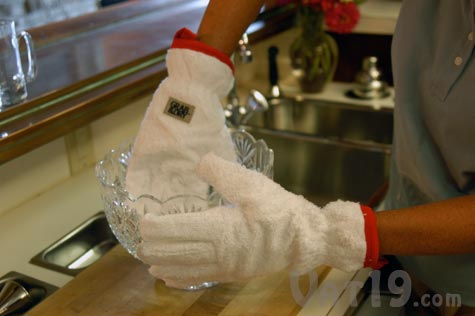 Grab 'n Dry Dish drying gloves