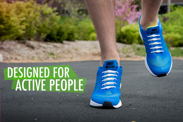 Designed for active people