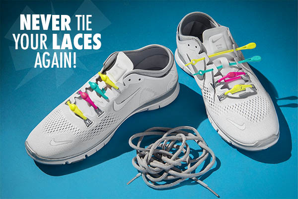 Never tie your laces again!