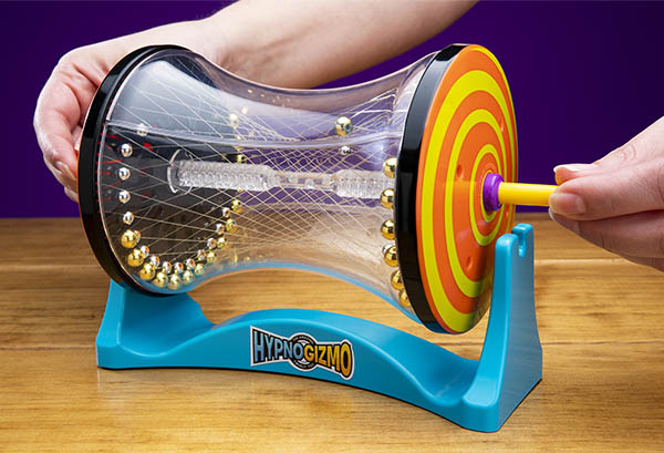 Hypnogizmo includes a display stand