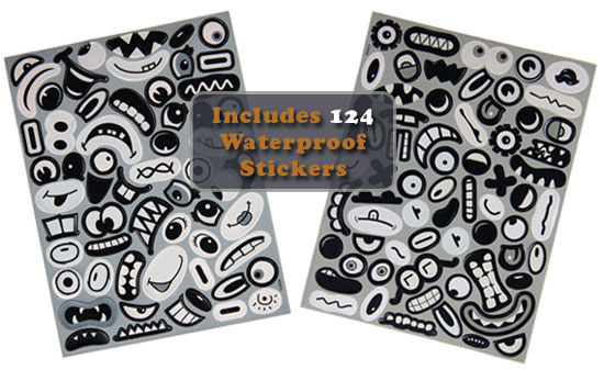 Inanimate Stickers Sheets