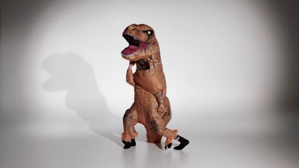 inflatable dinosaur costume air filled dino disguise
