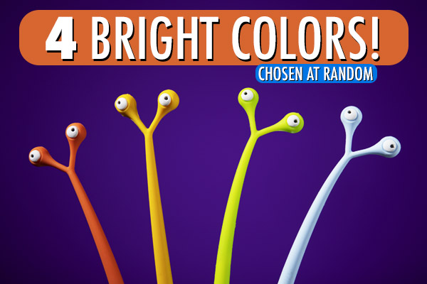 You will receive orange, yellow, green, or blue.
