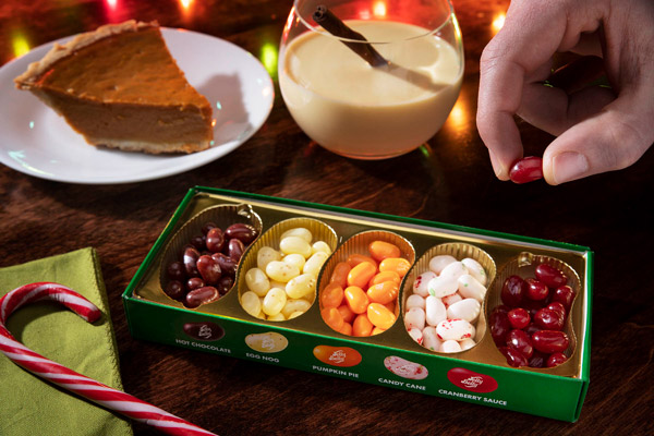 Delicious holiday-inspired jellybean flavors!