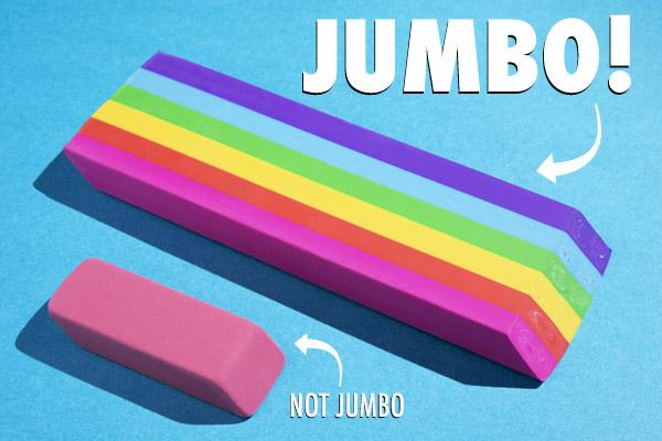 Jumbo Rainbow Scented Eraser