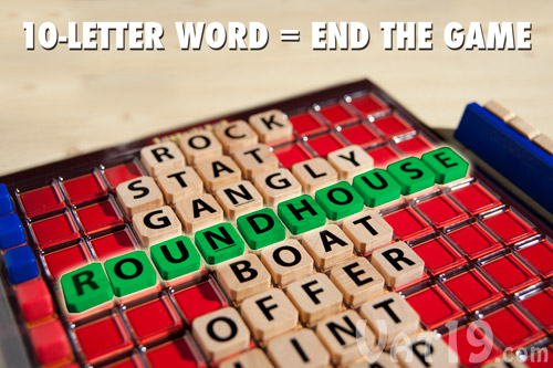 Create A 10 Letter Word And You Will Instantly Win The Game
