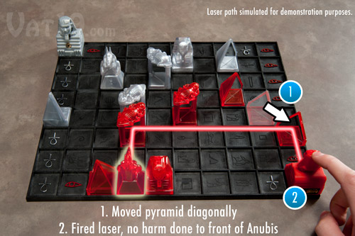 Khet Laser Game Demonstration 1