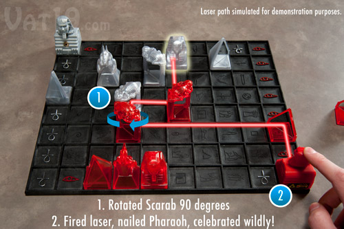 Khet Laser Game Demonstration 3