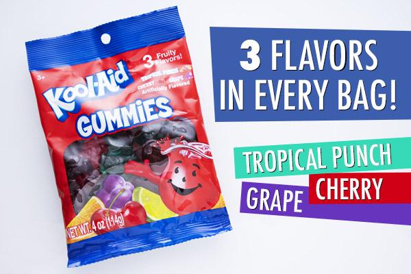 Kool-Aid Gummies packaging.