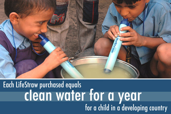 LifeStraw is used with great success in developing countries.