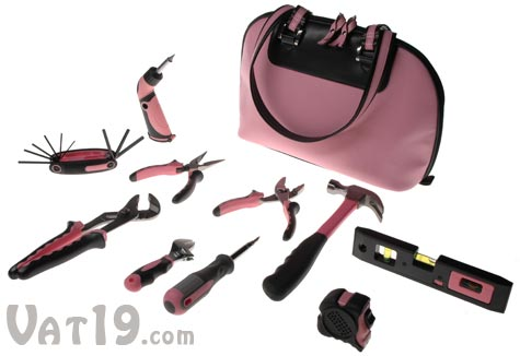 Little Pink Toolkit includes 10 tools