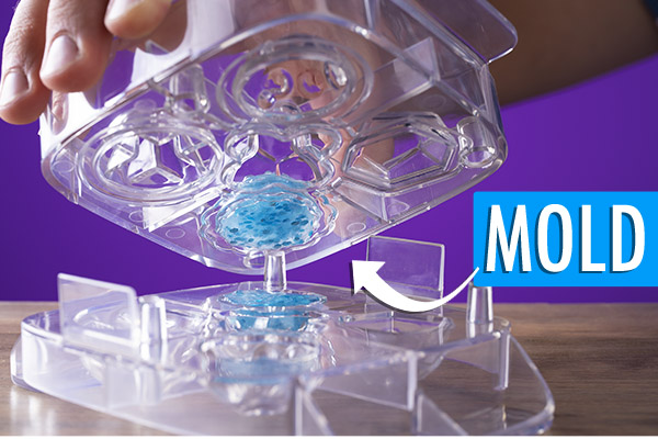 Make Your Own Bouncy Ball Kit how to