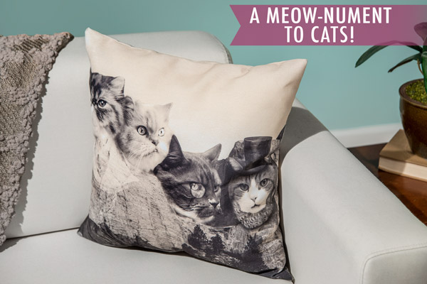 A meow-nument to Cats!