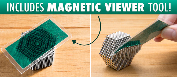Includes magnetic field viewer