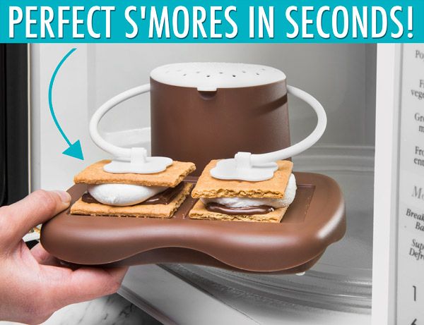 Make a perfect s'more in s'econds
