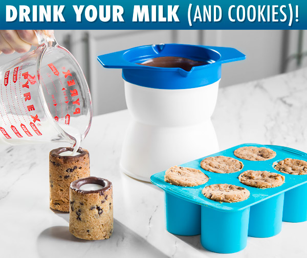 Drink your milk (and cookies)!