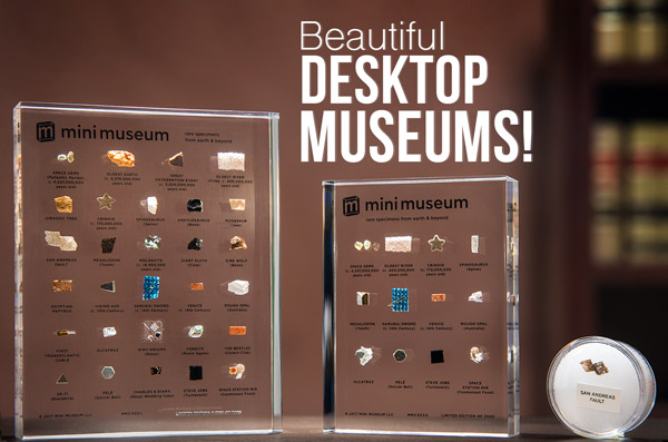 Beautiful desktop museums!