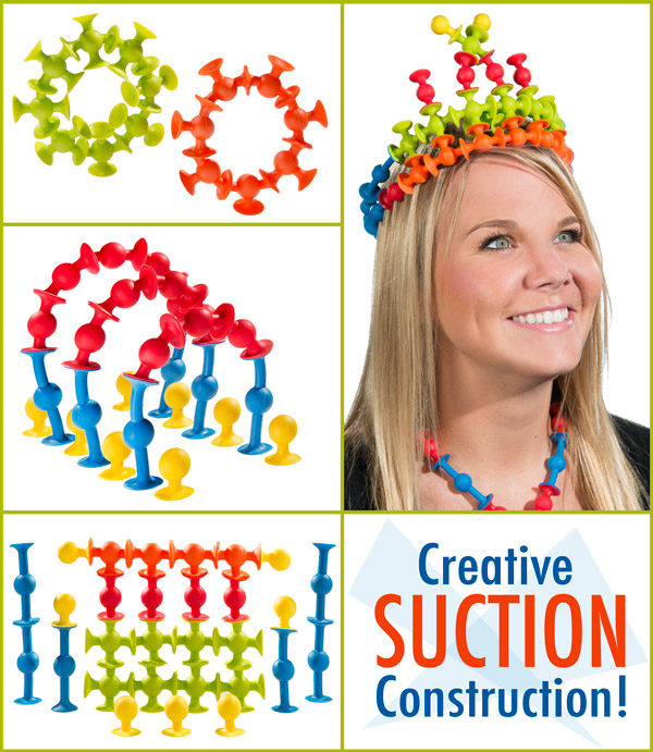 Creative Suction Construction!
