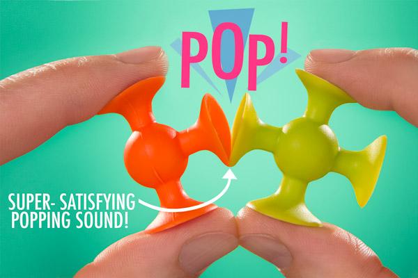 Super-satisfying popping sound!