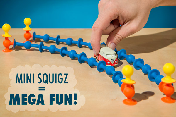 Mini Squigz = Mega Fun!