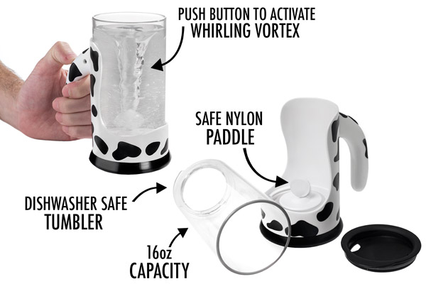 The Moo Mixer Supreme is more than just a cup.
