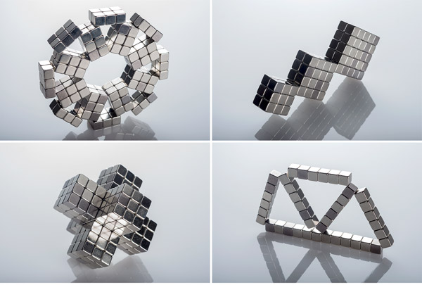 Build with cubic magnets!