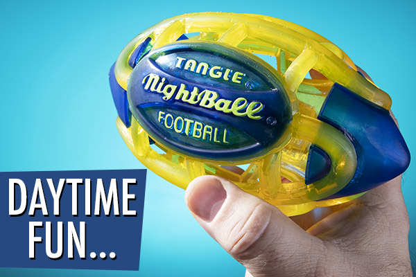 Hit the gridiron day or night.
