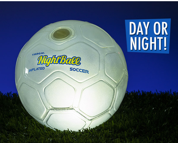 You can kick it day or night!