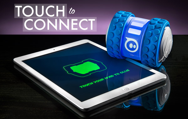 Instant connect bluetooth technology allows Ollie to connect to your mobile device instantly.